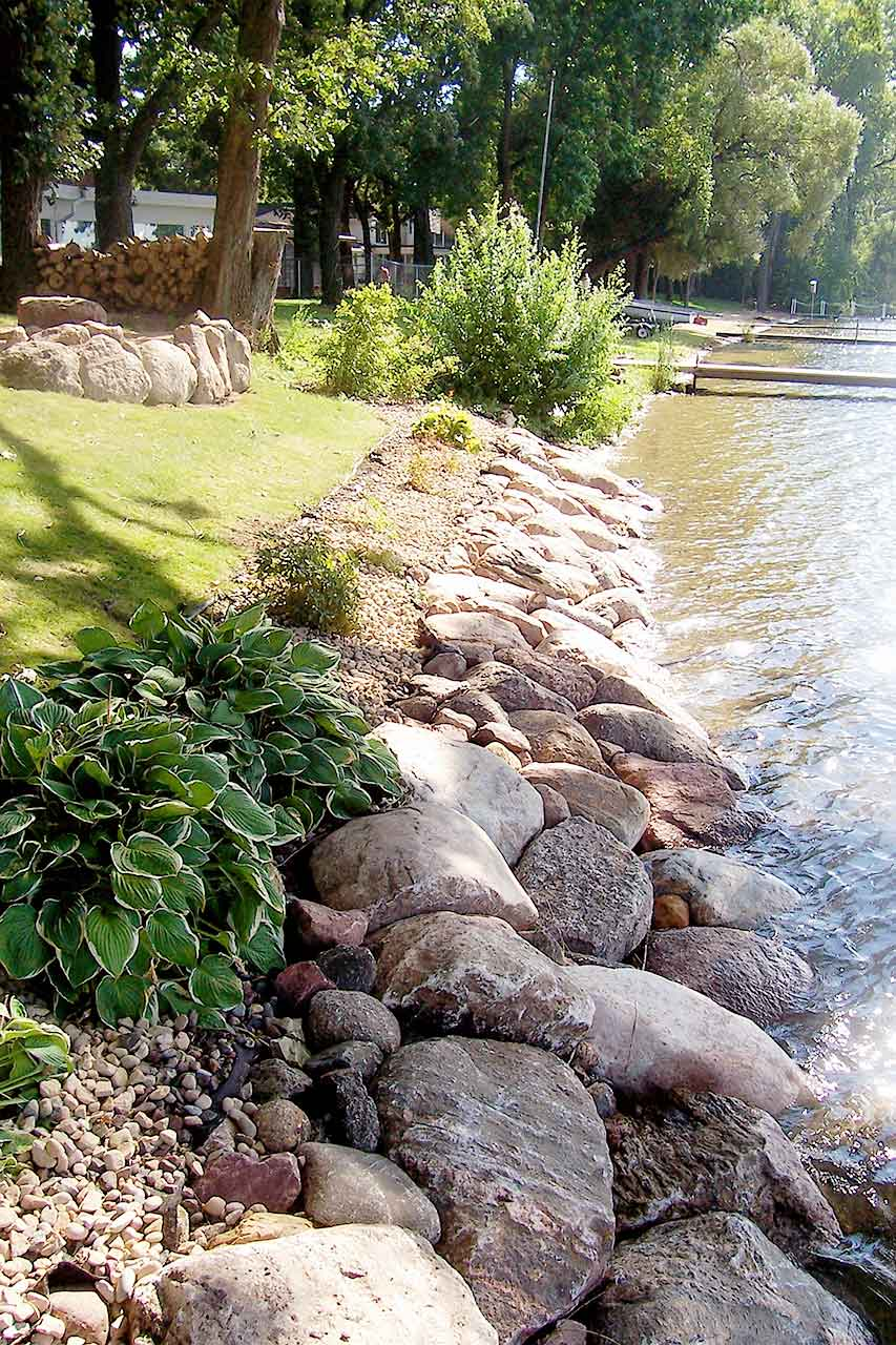 Shoreline Solutions By Cold Stone Shorelines Amp Retaining Walls